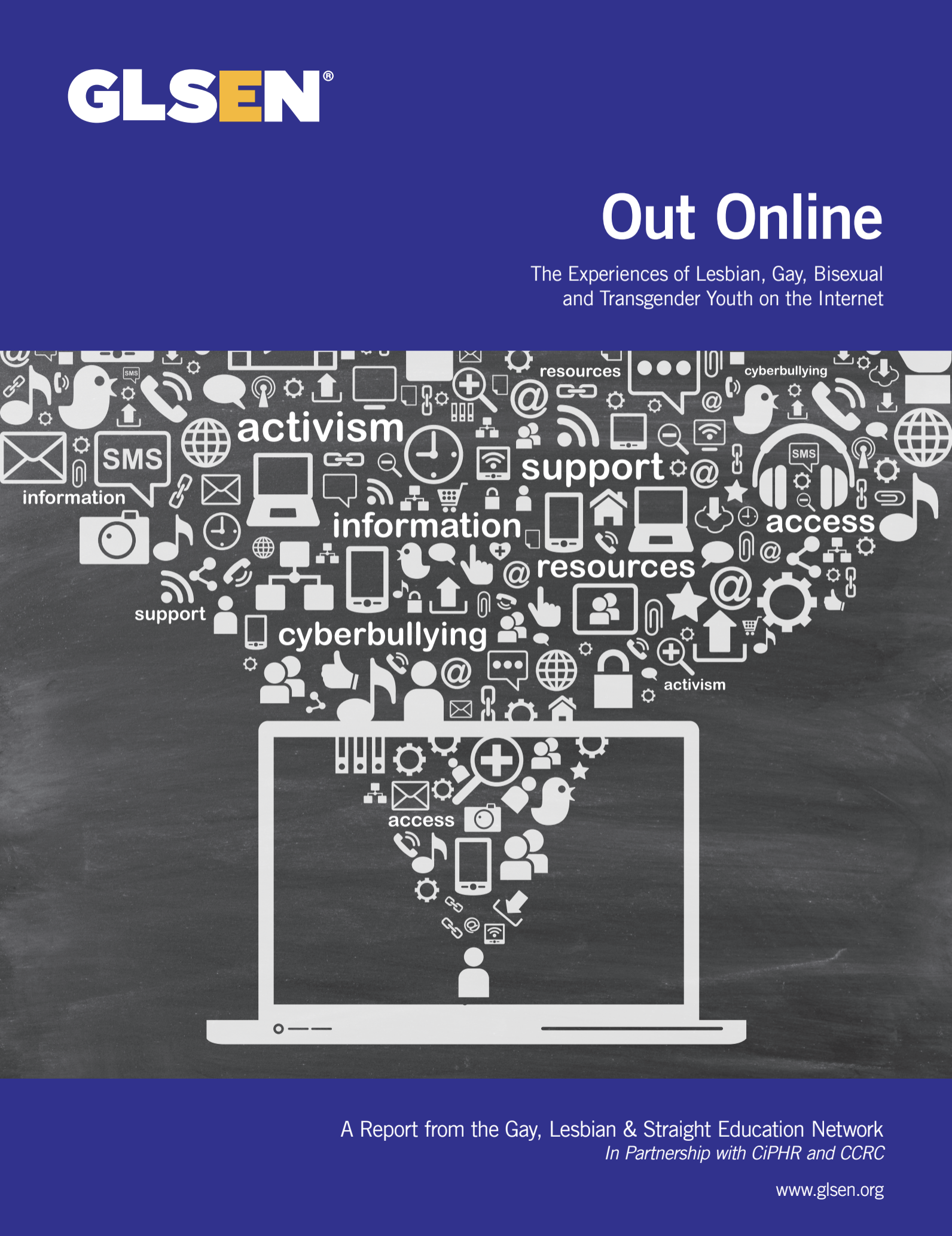 "Cover of ""Out Online"""