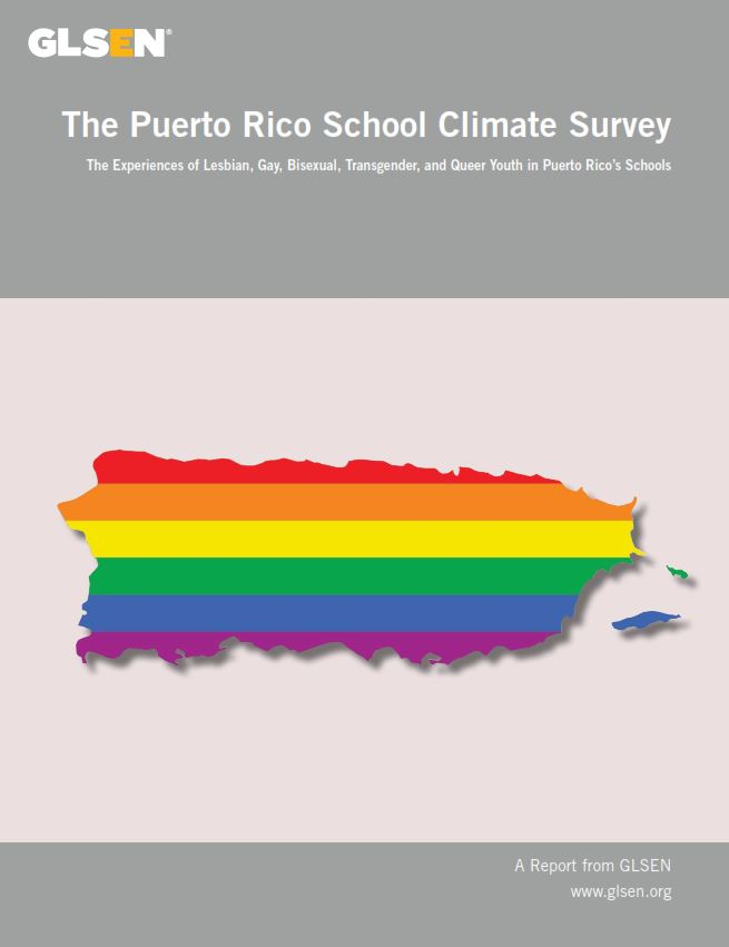 "Cover of ""The Puerto Rico School Climate Survey"""