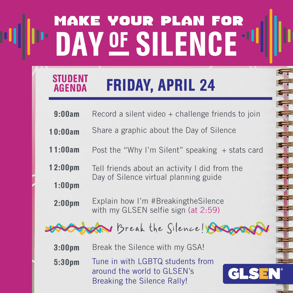 Day of Silence Launch Graphic 1