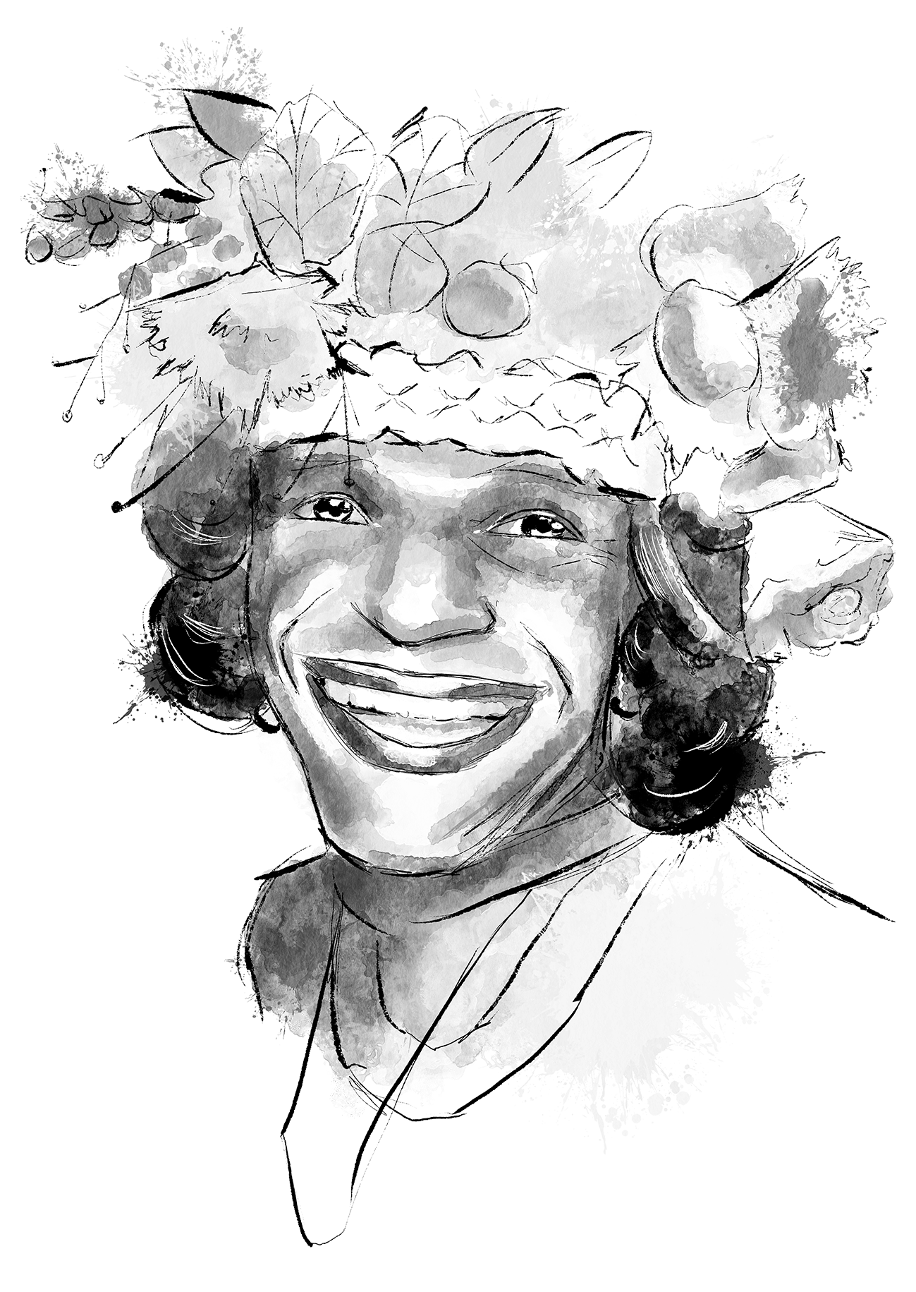 GLSEN LGBTQ+ History Cards - Image of Marsha P Johnson
