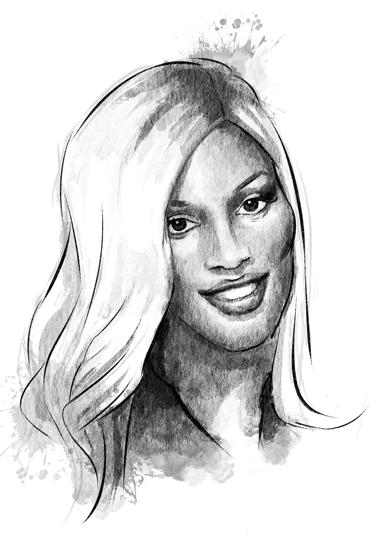 GLSEN LGBTQ+ History Cards - Image of Laverne Cox