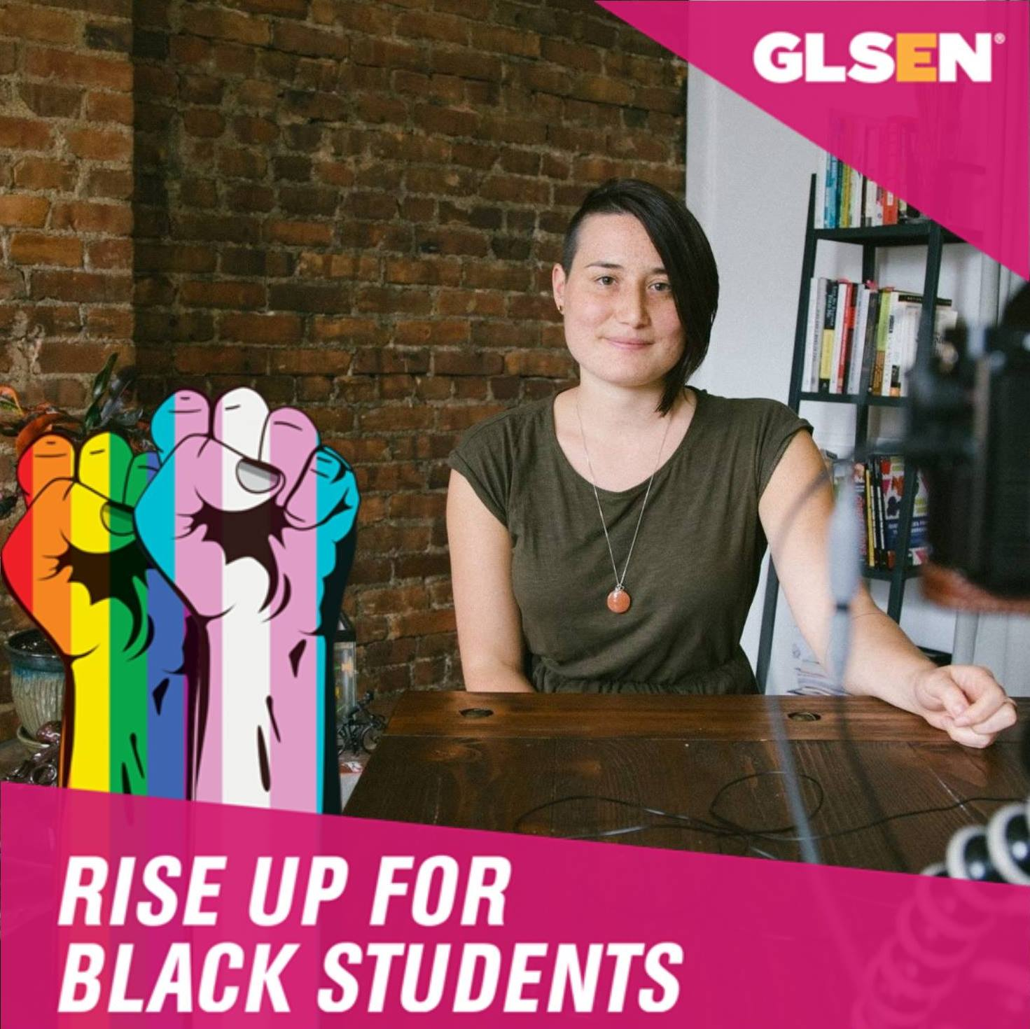 Photo of GLSEN Education Manager Becca Mui