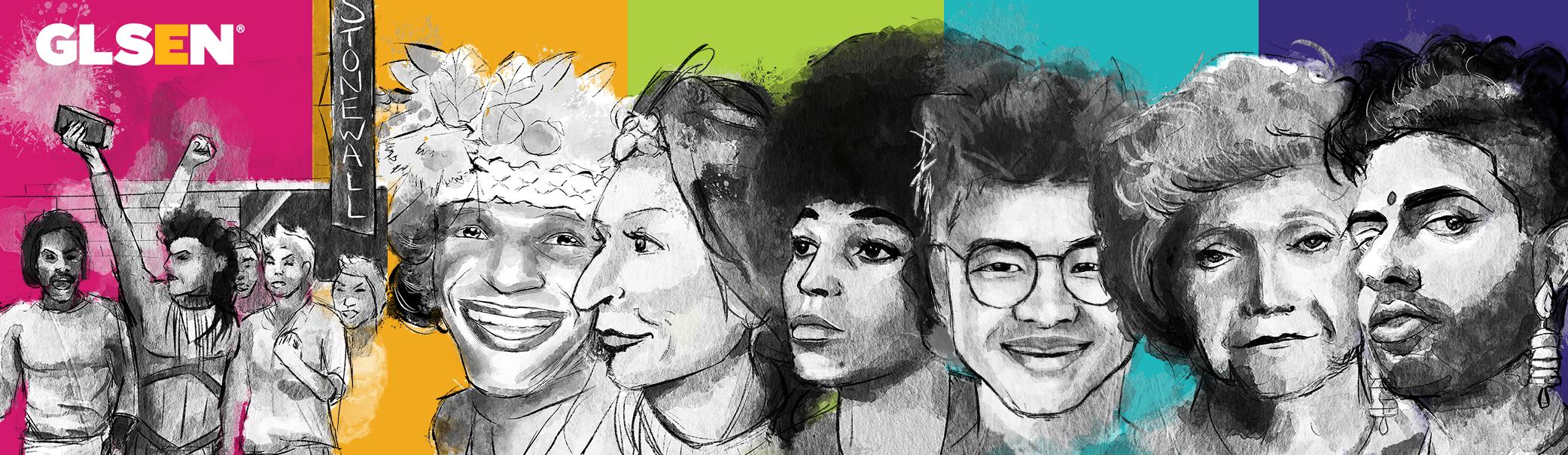 GLSEN LGBTQ+ History Cards