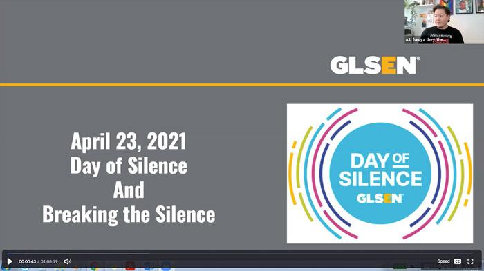 Day of Silence Webinar