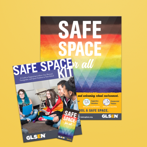 Safe space kit poster.
