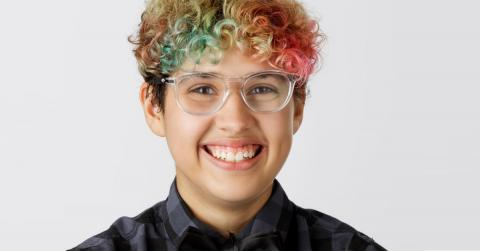 This is a headshot of Kian Tortorello-Allen, a member of GLSEN's National Student Council