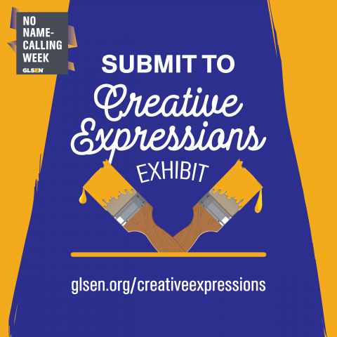 Submit to creative expressions for no name calling week.