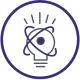 GLSEN's teach icon. Drawing of a light bulb.